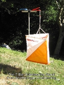 Orienteering stand, machined parts easy assembly